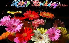 """Birthday Fireworks are common, send """"FlowerWorks"""" to your special Pal on his/her birthday enwrapped with the wishes of Sunshine & Smiles, Laughter &Happiness!! www.123greetings.com"""