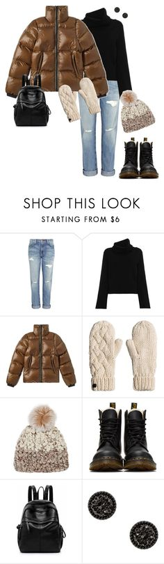 """Winter 2018"" by ccoss on Polyvore featuring Current/Elliott, Chloé, Mischa Lampert and Dr. Martens"