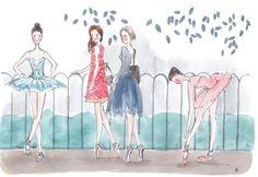 Ilustraciones de ballet - Buscar con Google
