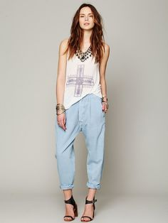 Levis 1920s Levis Pleated Chino Pants at Free People Clothing Boutique