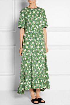 Marni | Floral-print crepe dress | NET-A-PORTER.COM