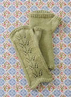 Ravelry: Countess Mitts pattern by Colleen Powley