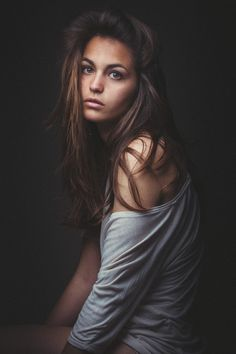 Photograph Mola portrait beauty hair by Fabrice Meuwissen on 500px