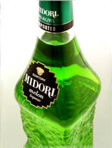 MoCo Melon:  1/2 oz Midori 1 oz Sour Watermelon Pucker 1 oz Watermelon Vodka 4 oz Sprite  Shake all ingredients except Midori in shaker with ice. Pour into double old fashioned glass and float Midori on top.