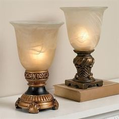 Glass Urn Accent Lamp   Lighting   Brylanehome