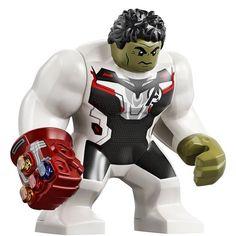 LEGO Avengers: Endgame 76144 – Avengers Hulk Helicopter Drop Set Source by Lego Marvel's Avengers, Lego Batman, Lego Ironman, Lego Hulk, Pokemon Lego, Die Rächer, Lego Custom Minifigures, Chibi Marvel, Lego Pictures