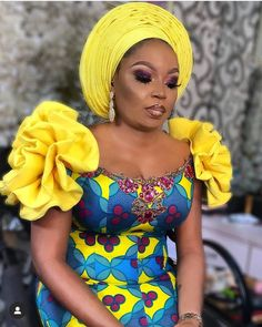 Classical Aso Ebi Dresses for damsels African Dresses For Kids, African Fashion Designers, Latest African Fashion Dresses, African Dresses For Women, African Print Dresses, African Print Fashion, African Attire, African Lace Styles, African Traditional Dresses