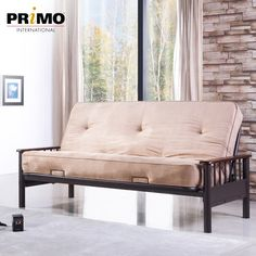 Primo International Appleton Futon in Cappucino Spare Room, Dorm Room, Full Size Futon, Small Space Solutions, Business Furniture, Cozy Bed, Room Set, Couch, Futon Sofa