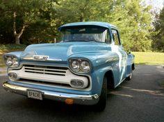 1958 chevy apache pickup truck