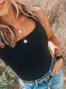 """Our Traveler Layered Necklace Set is one of our favorite layering pieces and gives off total boho vibes! The 3-layer set connects as one necklace, making it easy to take on and off. Features metal chain, lobster clasp and hits at 14"""" L. Layered Necklace Set, Metal Chain, Lobster Clasp, Layering, Gold Necklace, Boho, Easy, Closet, Gold Pendant Necklace"""