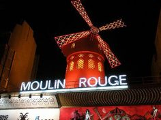 Moulin Rouge - the facade was still slightly evocative of an old Atget photograph when I went to Paris for my 21st birthday, but just barely. It was a let down --expectations didn't help-- to discover that the show was a second rate Pahrump NV or Tenderloin San Francisco. That it has managed to hang on 75  years past its heyday is a testament to how many tourists over the years so eager to get ripped off. If I had just stuck to wandering around the city with blank notebooks to sketch in, it…