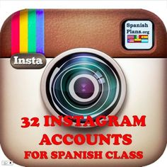 Instagram accounts for Spanish class