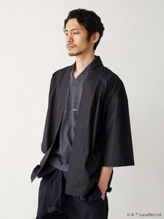 These Star Wars Jackets Are Japanese Geek Chic Tokyo Street Fashion, Japan Fashion, Haut Kimono, Mode Kimono, Grunge Style, Soft Grunge, All Black Fashion, All Black Outfit, Mori Girl