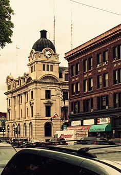 Downtown Moose Jaw Saskatchewan