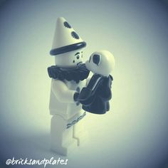 Sentimental #Lego Sad Clown