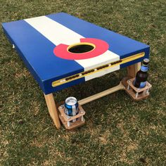 Custom Corn Hole Set - Low Barrel Creations