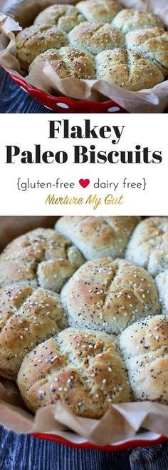 Flakey Paleo Biscuits | Nurture My Gut