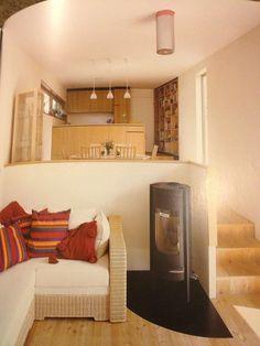 Split level tiny house