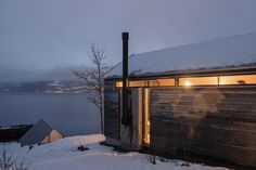 Cabin 6 Balestrand, Norway FIRM Logg arkitekter as TYPE Residential › Private House  STATUS Built YEAR 2012 SIZE