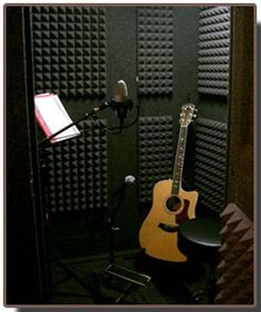 WhisperRoom sound booths are great for practicing or recording without disturbing your neighbors!  They're portable and modular too!