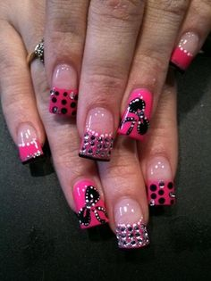 J'adore by elizabethg1988 - Nail Art Gallery nailartgallery.nailsmag.com by Nails Magazine www.nailsmag.com #nailart