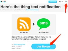 Tech Byte: RSS to Text... Via Here's the thing...