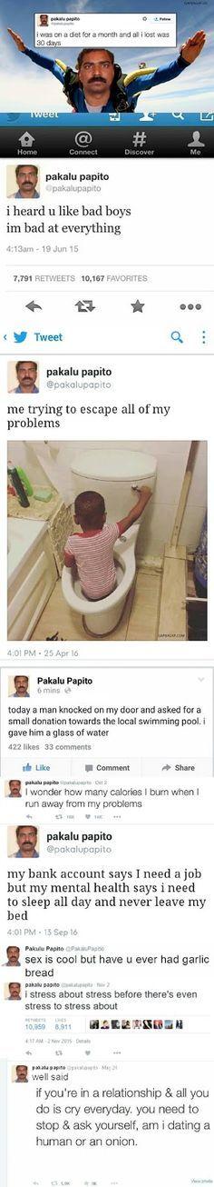 10+ #Hilarious Tweets By Pakalu Papito