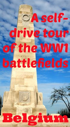 My guide to a self-drive tour of the World War 1 battlefields in Belgium - around the towns of Ypres/Ieper and Passchendaele. A sobering tour of the cemeteries and museums relating to WW1 in this region of Belgium.