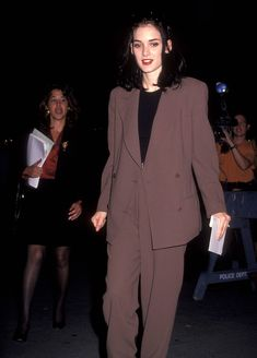 Winona Ryder at the Little Man Tate Premiere, October 1991