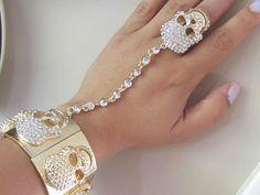 DIA DE LOS MUERTOS/DAY OF THE DEAD~bracelet