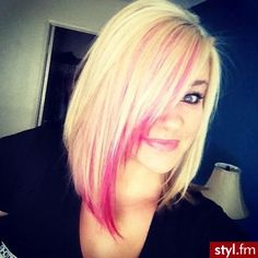 I want to do this next hair appointment but with purple