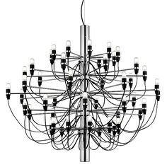 2097 50 Light Chandelier by Flos - http://www.lightopiaonline.com/flos-2097-50-light-chandelier.html