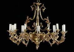 Best Antique Brass Chandeliers Images On Pinterest Antique - Used chandelier crystals for sale