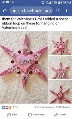 Valentine Tree, Valentines Day, Fun Summer Activities, Ribbon, Holiday, Valentine's Day Diy, Tape, Vacations, Band