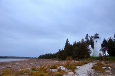 old pesque isle lighthouse | Flickr - Photo Sharing!