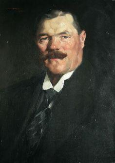 Galleri Skott - Samuel Uhrdin, olja på pannå