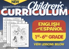 FREE Bible Curriculum for Preschool through 6th Grade, and even Spanish! | Free Homeschool Deals ©
