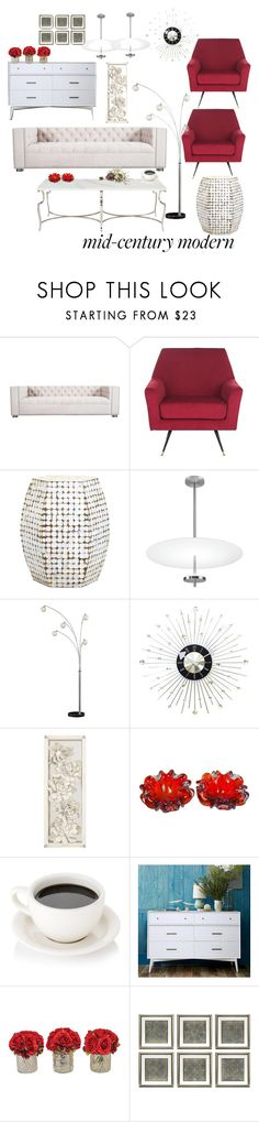 """Untitled #411"" by aya-kaddoura ❤ liked on Polyvore featuring interior, interiors, interior design, home, home decor, interior decorating, ModShop, Safavieh, Bernhardt and Possini Euro Design"