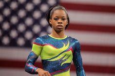 2012 Olympic Trials: Women's Gymnasts - Gymnastics Slideshows   NBC Olympics Gabby Douglas- 16 yr old