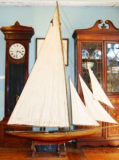 1920s pond yacht model | oleh oldsailro