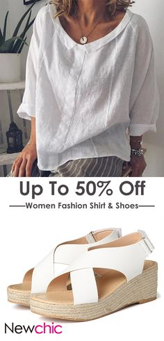 Trendy shoes sneakers - Back To School Style Women Fashion Shirt & Shoes Style École, Sac Vanessa Bruno, Chemise Fashion, Summer Outfits, Casual Outfits, T Shirt Vest, Couture Tops, Trendy Shoes, Dress And Heels