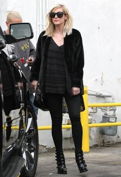 Ashlee Simpson Photos: Evan Ross & Ashlee Simpson Shopping In Beverly Hills