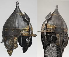 the century Ottoman helmet Mother Courage, Swords And Daggers, Gif Pictures, Body Armor, Ottoman Empire, 16th Century, Larp, Weapons, Oriental
