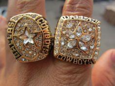 b5231a1e5 1992 1995 Dallas Cowboys Superbowl Championship Ring together Super Bowl  Rings