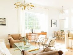 Scandinavian home inspiration with plenty of color. Decorating ideas and room inspiration with color, proving that not all Scandinavian spaces are monochrome.