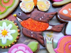Vanilla Glazed Chocolate Cookies by Robin Traversy {The Cookie Faerie}.