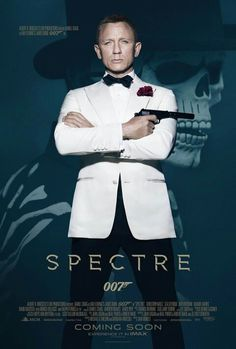 The new 007 movie poster....can't wait to see it.....