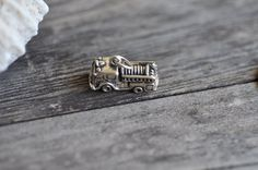 Sterling Silver 3D Fire Engine Sterling Silver Charm Pendant Made in USA by Pearlwearbeads on Etsy