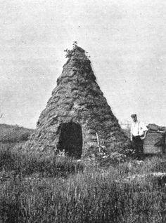 charcoal burners hut early 1900's