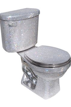 Want a Swarovski-crystal covered toilet.  It's yours for $75,000.  Toilet paper extra